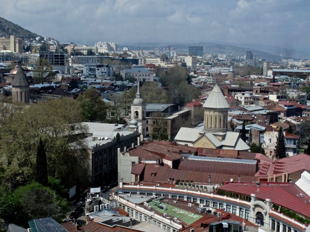 Tbilisi 2014 från linbanan